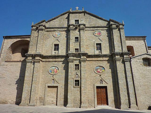 cattedrale san pietro tempio pausania
